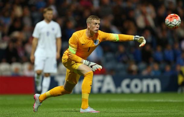 Pickford will be looking to impress with England U21s (Getty Images)