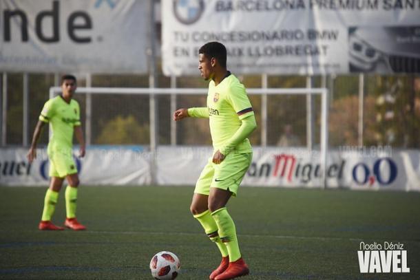 McGuane, jugador del FC Barcelona B. FOTO: Noelia Déniz