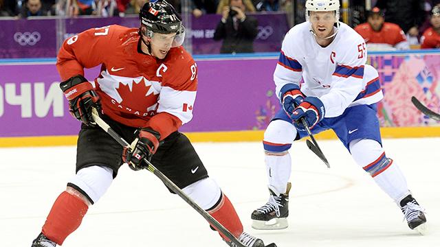 Sidney Crosby en sochi 2014   Foto. sportsnet.ca