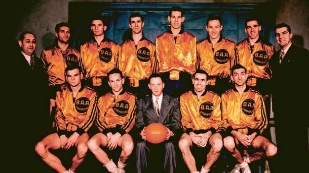 Los Philadelphia Warrios se hicieron con el título en la campaña 1946/1947 | Fuente: NBA