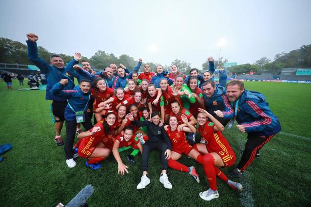 La Roja jugará su segunda final mundialista | Foto: FIFA Women's World Cup