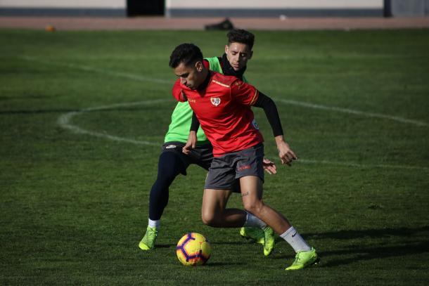 Sergio Moreno durante un entrenamiento | Fotografía: Ricardo Grande (VAVEL)