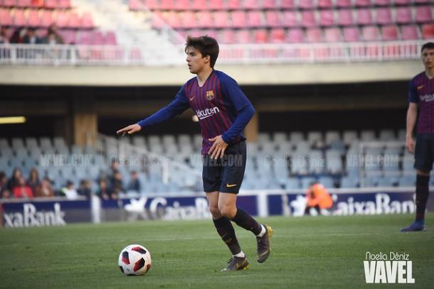 Imagen de Riqui Puig, jugador del Barça B. FOTO: Noelia Déniz