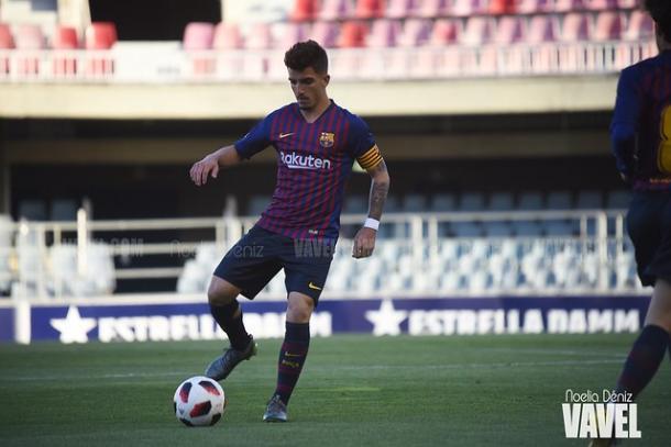 Monchu Rodríguez, jugador del FC Barcelona B. FOTO: Noelia Déniz