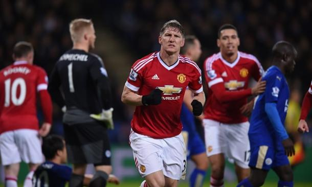 Schweinsteiger has been pivotal for United recently - but van Gaal feels there is room for improvement