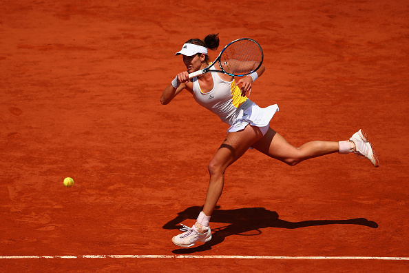 Muguruza's most consistent Grand Slam results have come at the French Open. Photo credit: Clive Brunskill/Getty Images.