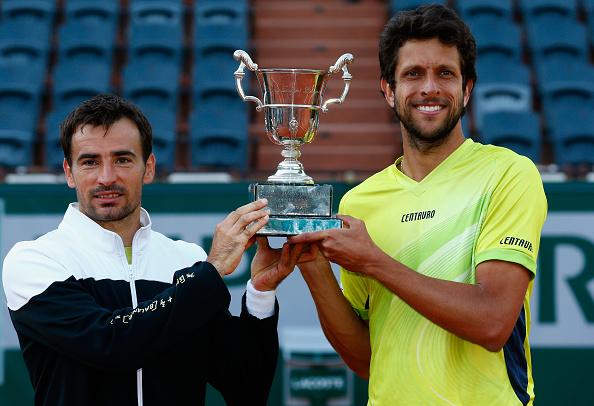 Marcelo Melo e Dodig, campeões em 2015/ Foto: Julian Finney/ Getty Images