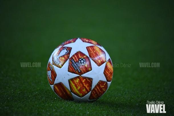 El balón de la Champions League. FOTO: Noelia Déniz