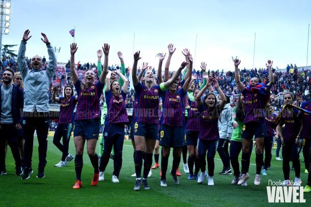 El FC Barcelona femenino disputará su primera final europea de su historia / Foto: Noelia Déniz (VAVEL.com)