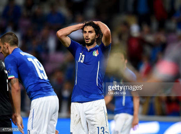 Ranocchia has played 21 times for Italy (photo: Getty Images)