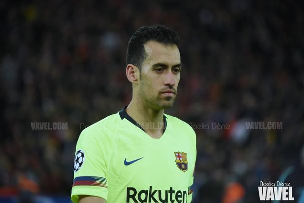 Sergio Busquets, jugador del FC Barcelona. FOTO: Noelia Déniz