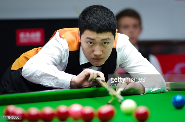 Yan Bingtao is the second youngest ever player to reach the Crucible (photo: Getty Images)