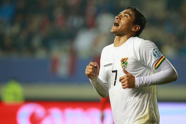Jogador é ídolo na Bolívia (Foto: Getty Images)