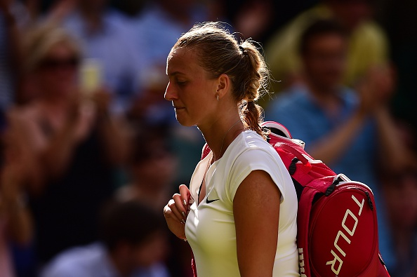 Kvitova suffered her earliest Wimbledon exit of the decade last year, exiting in the third round. Photo credit: Leon Neal/Getty Images.