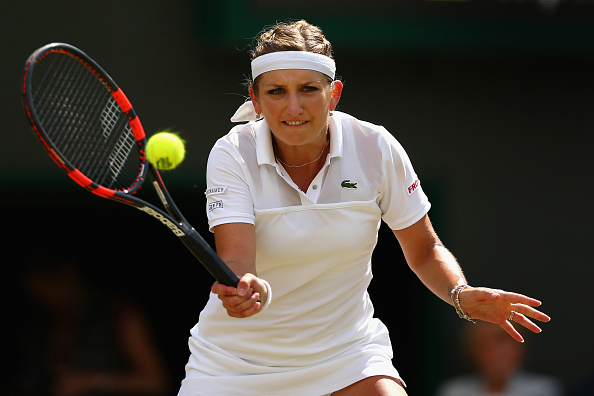 Bacsinszky's biggest result on the lawns came in Wimbledon last year where she made the last eight. Photo credit: Clive Brunskill/Getty Images.