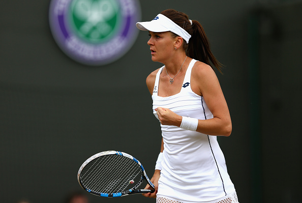 Radwanska completely turned her disastrous first-half of 2015 once she stepped on grass. Photo credit: Clive Brunskill/Getty Images.