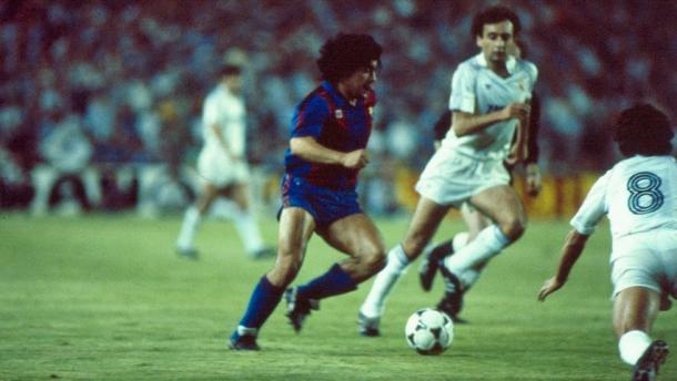 El Clásico 82/83 (foto:sport)