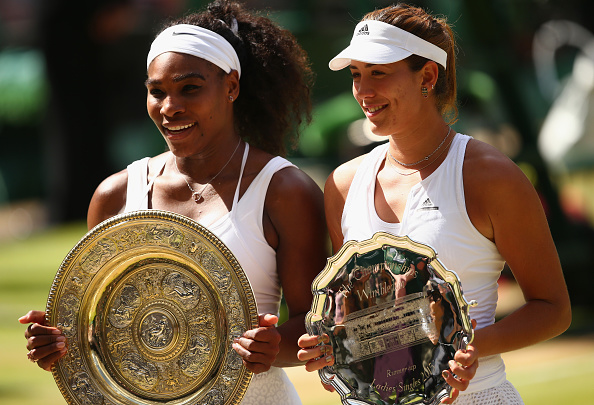 Williams defeated Muguruza at SW19 12 months ago (photo:getty)