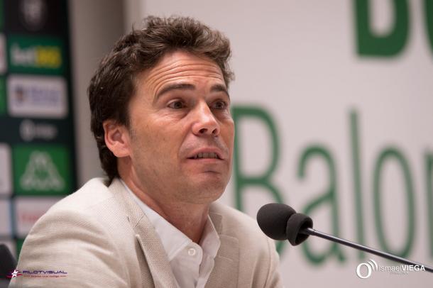 Rubi durante su presentación | Fotografía: Ismael Viega (Onda Bética)