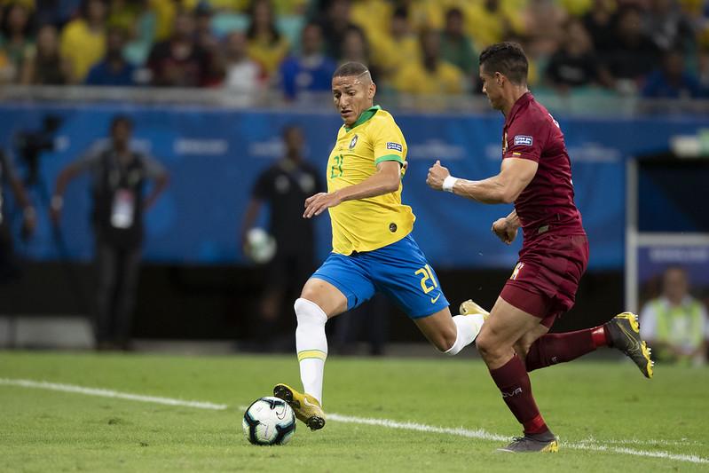 Último Brasil x Venezuela foi na Copa América de 2019 e terminou sem gols (Foto: Lucas Figueiredo/CBF)