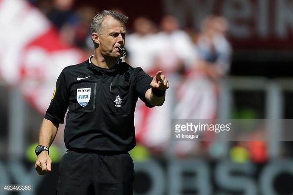 Bjórn Kuipers, árbitro del partido Atlético de Madrid vs Olympique de Marsella | Foto: Getty Images