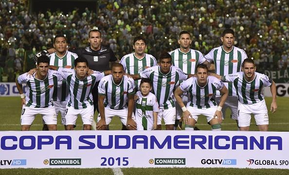 Última participação dos alviverdes foi na Copa Sul-Americana de 2015 (Foto: Getty Images)