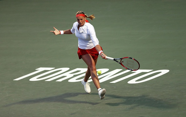 All in all, 2015 was a testing year for Kvitova. Photo credit: Vaughn Ridley/Getty Images.