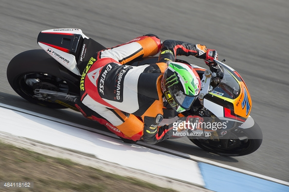 Baldassarri fastest after FP3 despite crash - Getty Images