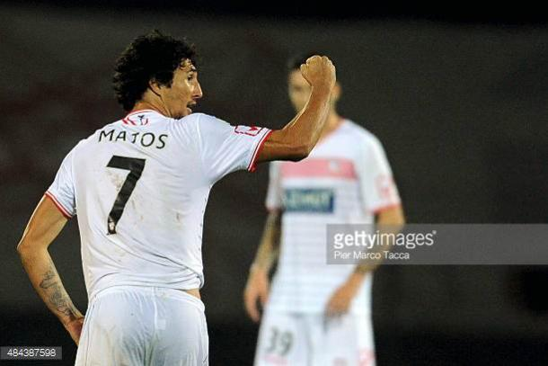Matos anotaun gol para el Carpi en la 2015/2016 | Foto:Gettyimages