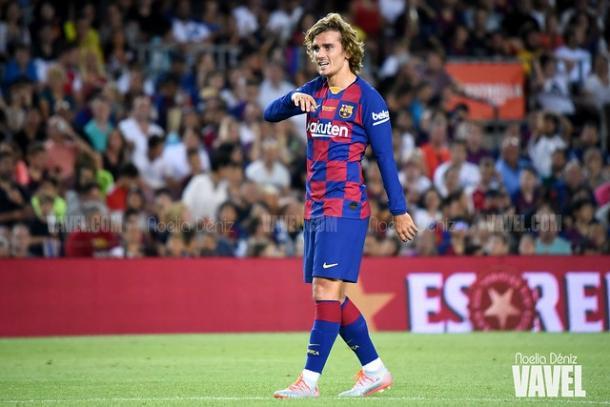 Antoine Griezmann, jugador del FC Barcelona. FOTO: Noelia Déniz
