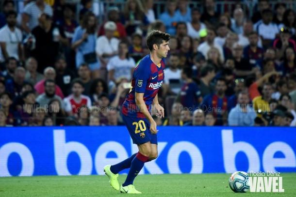 Sergi Roberto, jugador del FC Barcelona. FOTO: Noelia Déniz