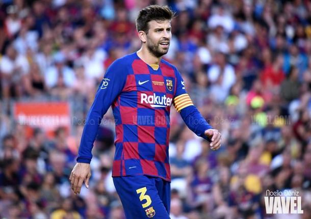 Gerard Piqué, jugador del FC Barcelona. FOTO: Noelia Déniz