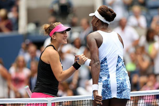 Belinda Bencic upsets Venus Williams in first round at Australian Open