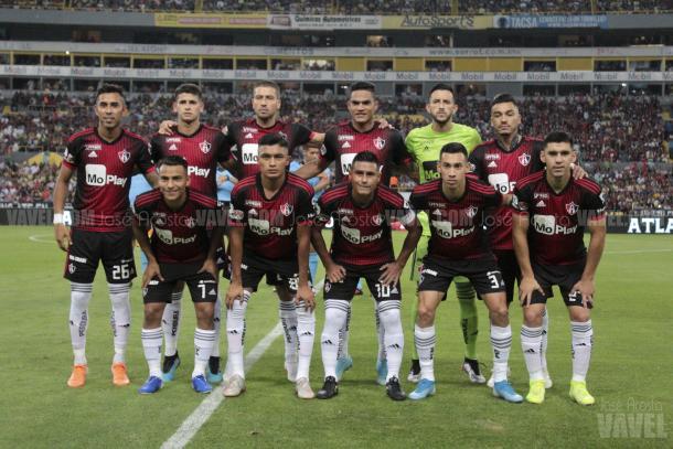 Atlas en el Apertura 2019 / Foto: José Acosta/VAVEL