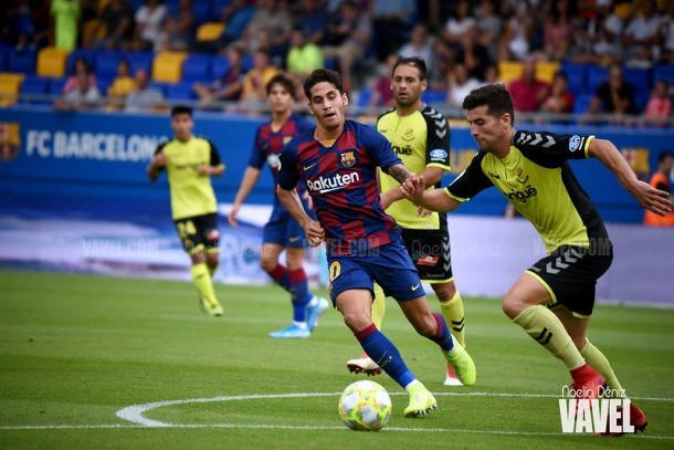 Foto de archivo del partido de la primera vuelta entre el Barça B y el Nàstic. FOTO: Noelia Déniz