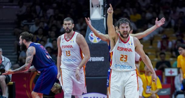 Llull durante el partido / feb.es