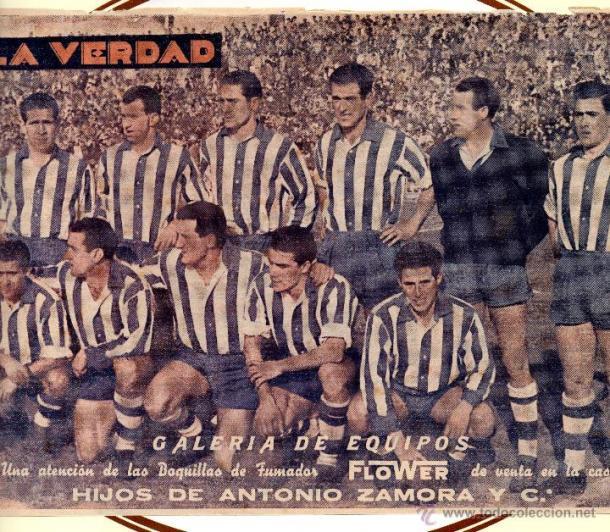 Equipo histórico del Deportivo Alavés. Fuente: deportivoalaves.com