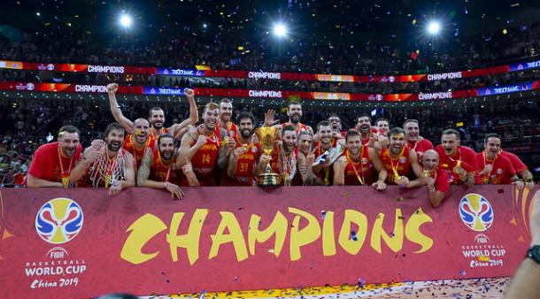 España campeona del mundo en China / feb.es