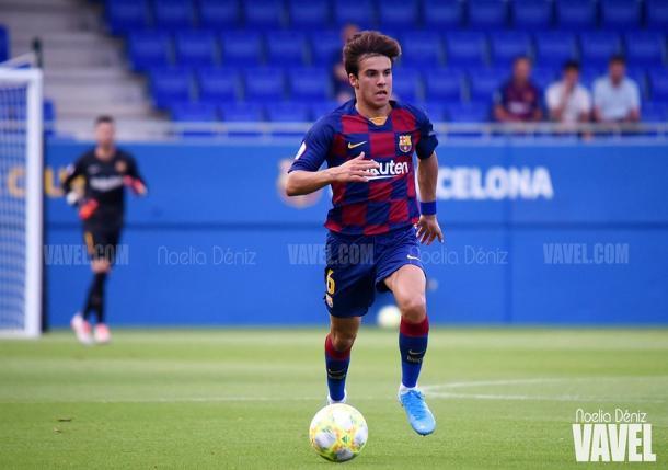 Riqui Puig, jugador del FC Barcelona B. FOTO: Noelia Déniz