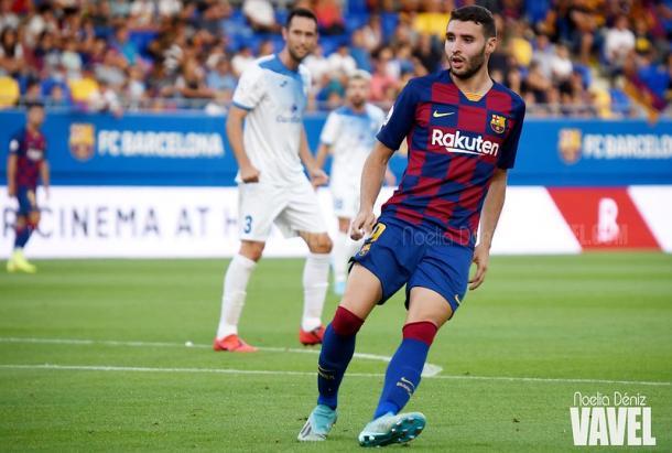 Abel Ruiz anotó el 1-0 ante el Atlético Levante   Foto: Noelia Déniz (VAVEL)