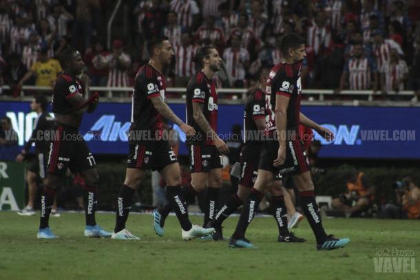 Atlas quedó en el lugar 14 con 21 pts. en el Apertura 2019   Foto: José Acosta / VAVEL)