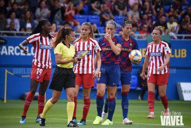 El Barcelona no podrá enfrentarse al Atlético de Madrid en octavos de final // Noelia Déniz (VAVEL España)