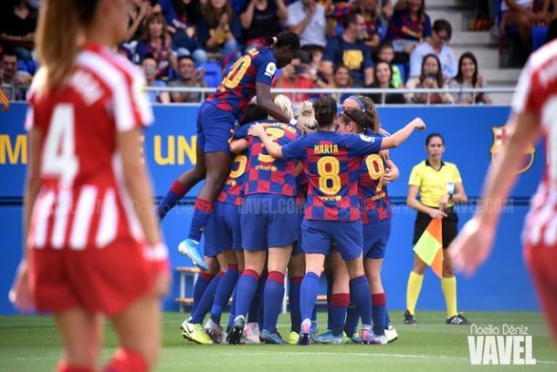 El Barcelona pasó por encima del Atlético por un resultado de 6-1 // Noelia Déniz (VAVEL España)