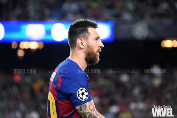 Messi en el Camp Nou | Foto: VAVEL