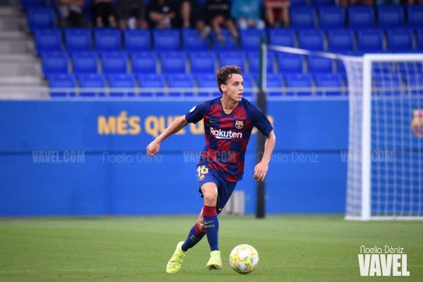 Jandro Orellana, jugador del FC Barcelona B. FOTO: Noelia Déniz