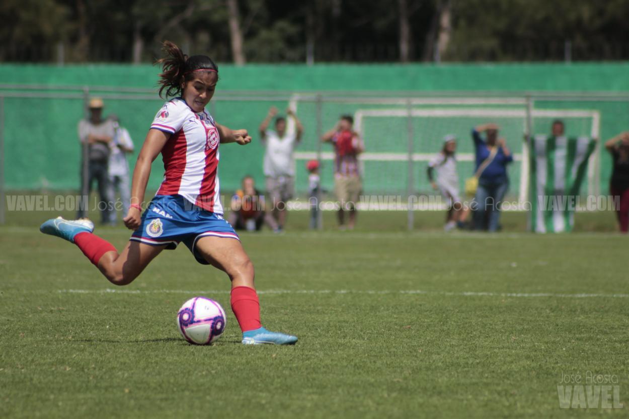 La subcampeona del mundo Sub 17 estuvo en Chivas Femenil desde el Clausura 2018 // Foto: José Acosta - VAVEL