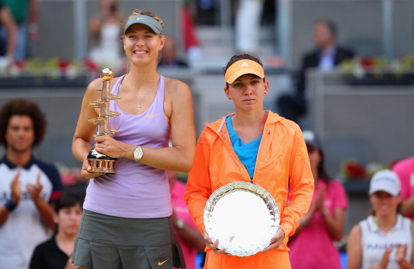 Halep lost to Maria Sharapova in the 2014 final despite taking the first set comfortably. Photo credit: Clive Brunskill/Getty Images.