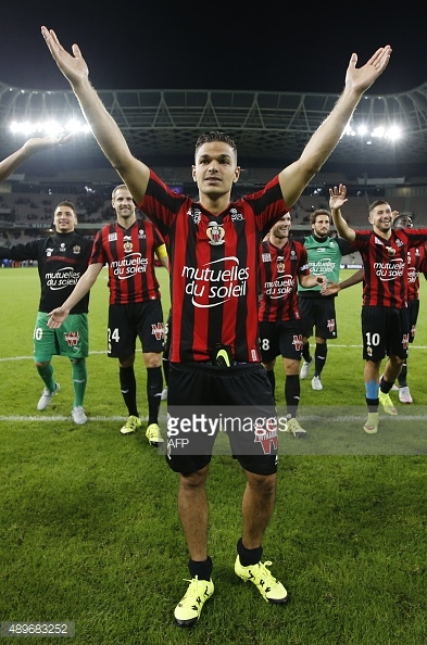 Ben Arfa enjoyed a fantastic spell at Nice under Claude Puel. Photo: Getty