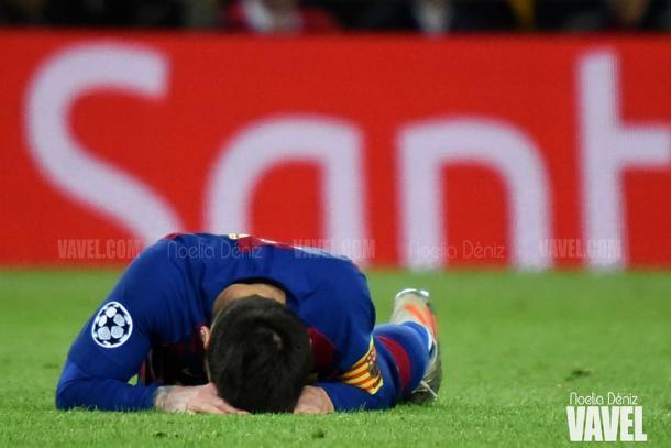Leo Messi ante el Slavia de Praga   Foto: VAVEL