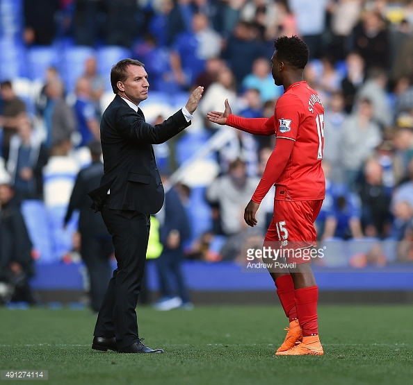 Rodgers made Sturridge his main man when Suarez departed. Photo: Getty
